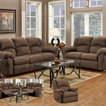 Sensations Reclining Sofa And Loveseat