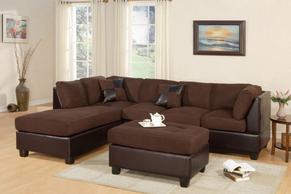 Superb Abby Ultra Plush Sectional And Ottoman Gmtry Best Dining Table And Chair Ideas Images Gmtryco