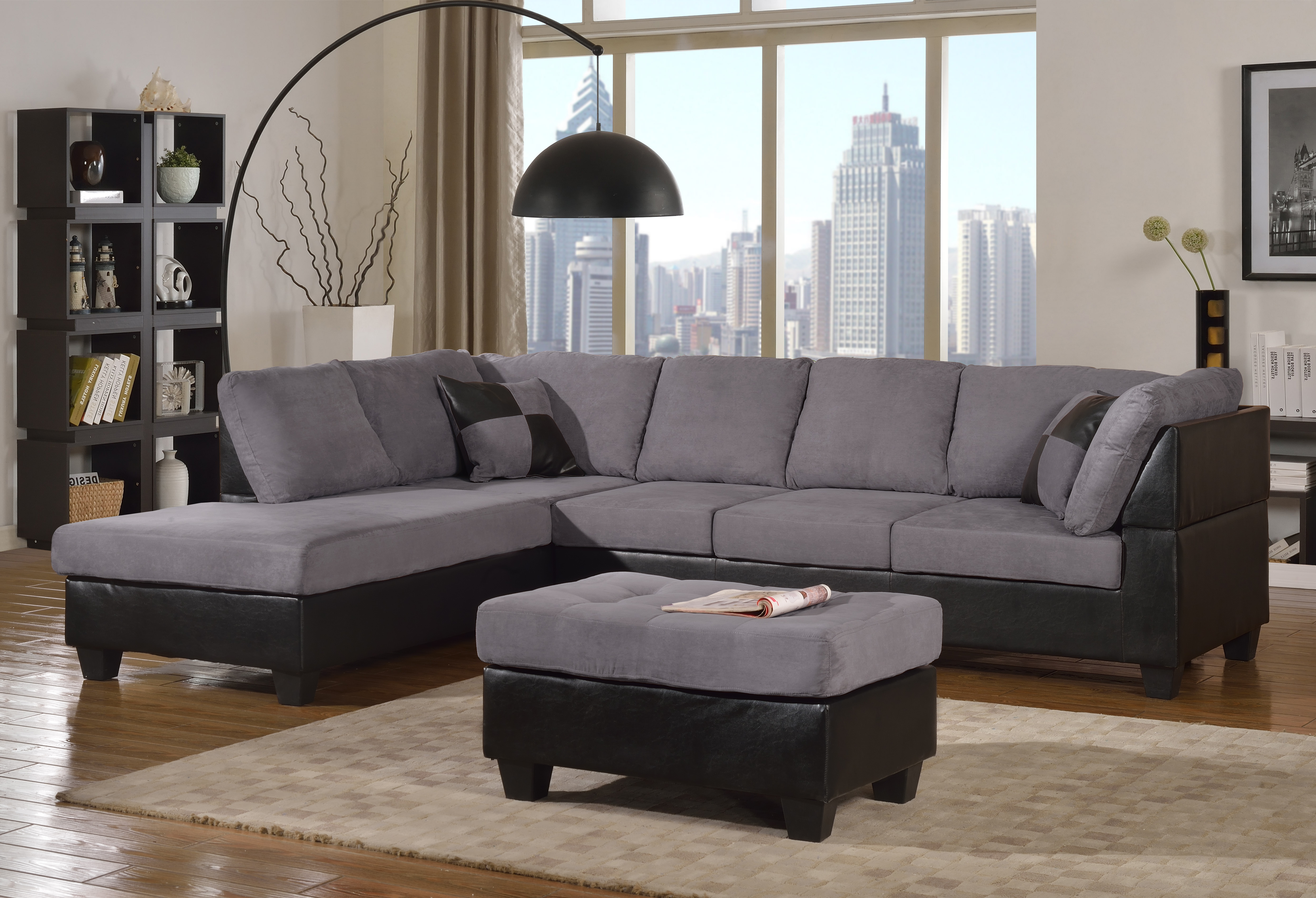 Abby Ultra Plush Sectional And Ottoman Mac 39 S Furniture